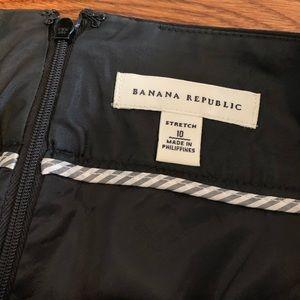 Banana Republic Pencil Skirt Black